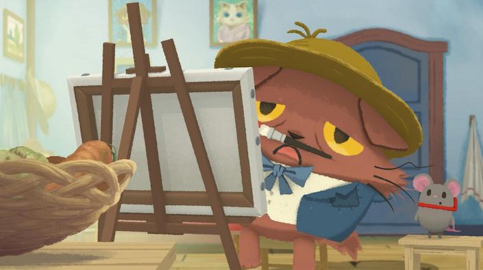 『猫のニャッホ』第2話ネタバレ感想!小さな頑張り屋さん、働き者のテオが大活躍