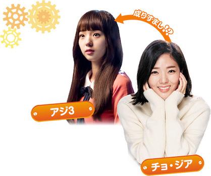 チェ・スビン / 役:アジ3 / チョ・ジア