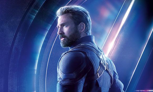 マーベルヒーロー第2位: キャプテン・アメリカ