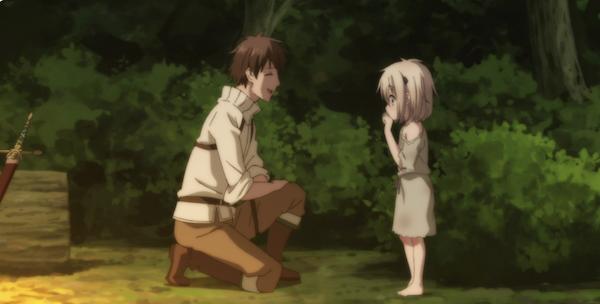 アニメ『うちの娘の為ならば、俺はもしかしたら魔王も倒せるかもしれない。』第1話「青年、ちいさな娘と出会う。」あらすじ①