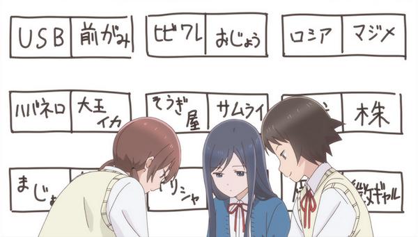 アニメ『女子高生の無駄づかい』第1話「すごい」あらすじ②