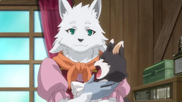 アニメ『うちの娘の為ならば』第8話「青年、故郷に着く。」あらすじ①