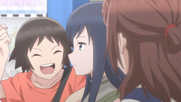 アニメ『女子高生の無駄づかい』第8話「みずぎかい」あらすじ①