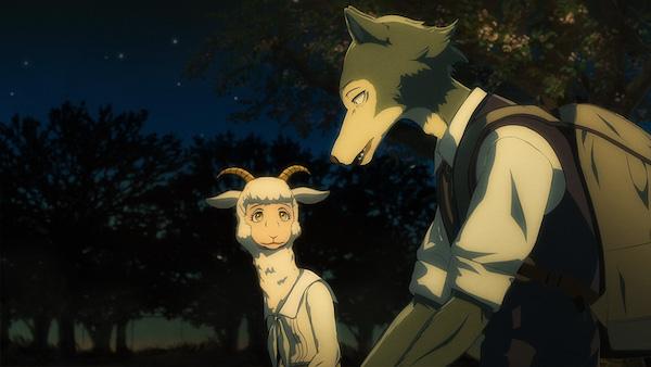 アニメ『BEASTARS』第1話「満月は照らす獣を選んでる」あらすじ②