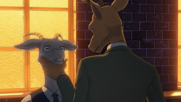 アニメ『BEASTARS』第1話「満月は照らす獣を選んでる」あらすじ③