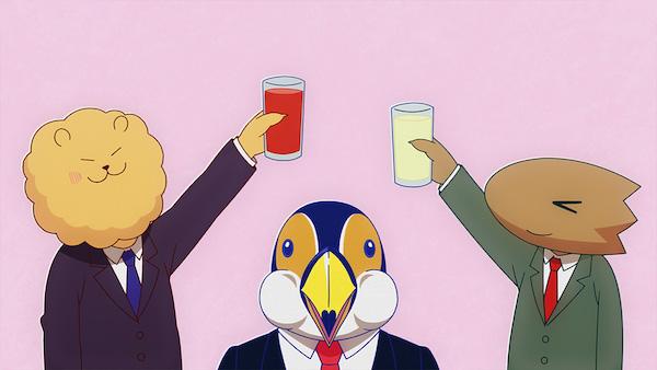 アニメ『アフリカのサラリーマン』第3話「アフリカのお花見」あらすじ①