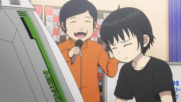 アニメ『ハイスコアガール』第23話(第2期8話)