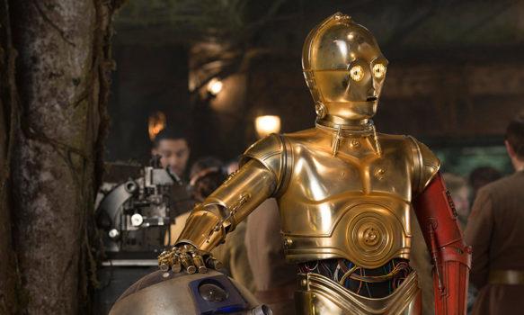 『スター・ウォーズ/最後のジェダイ』C-3PO