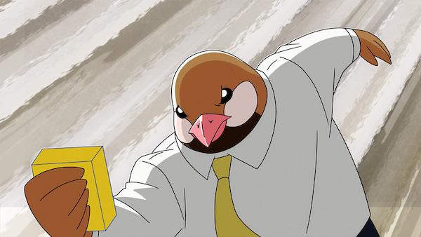 アニメ『アフリカのサラリーマン』第9話