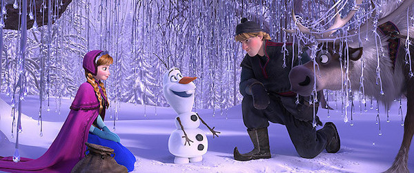映画『アナと雪の女王』
