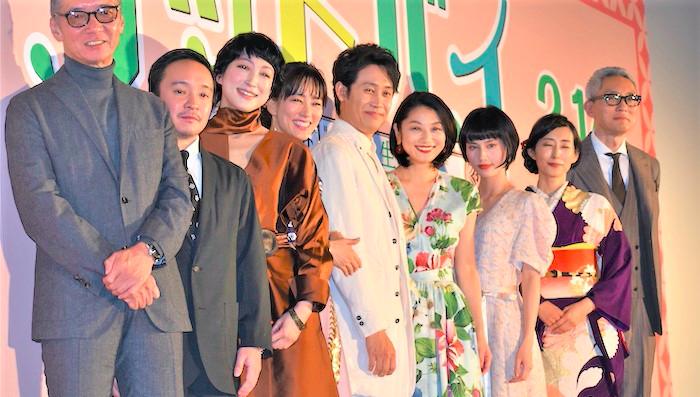 『グッドバイ』完成披露試写会:小池栄子からのムチャぶりに大泉洋「グッドバイしたいのは君のフリ」と爆笑を誘う