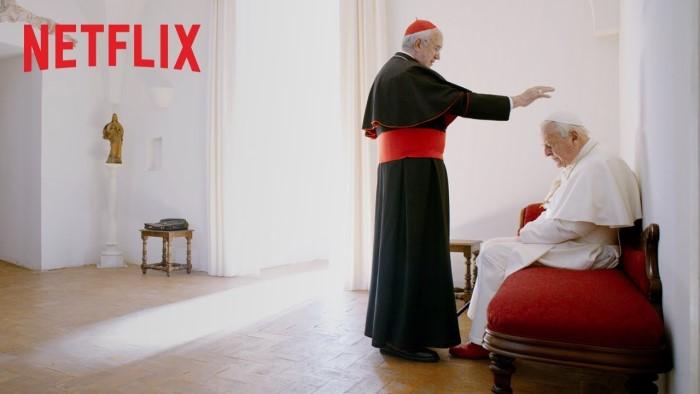 映画『2人のローマ教皇』あらすじ・感想!教皇退位の実話から着想を得た新しいコメディー映画【ネタバレなし】