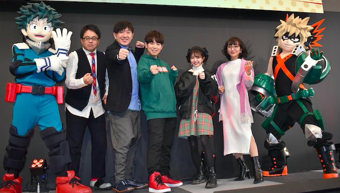 市川美織が「ヒロアカ愛」を語る、デクの声優・山下大輝も登壇:『僕のヒーローアカデミア』TOKYOアニメツーリズム