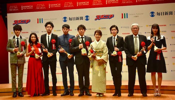 毎日映画コンクール男優主演賞は成田凌!映画大賞は『蜜蜂と遠雷』!