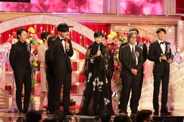 第43回日本アカデミー賞授賞式