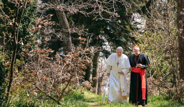 『2人のローマ教皇』