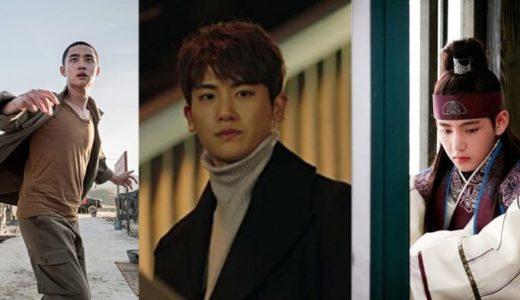 演技ができる男性韓国アイドル=演技ドルを紹介!BTSのV、元ZEAのパク・ヒョンシク、EXOのD.O.など総まとめ!