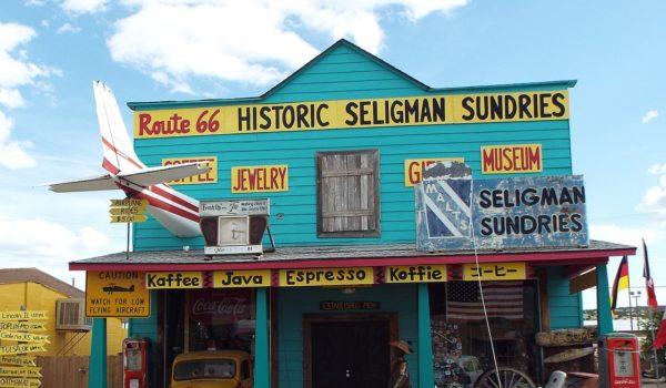 セリグマンの町並み
