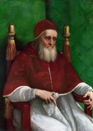 ユリウス二世 ラファエロ