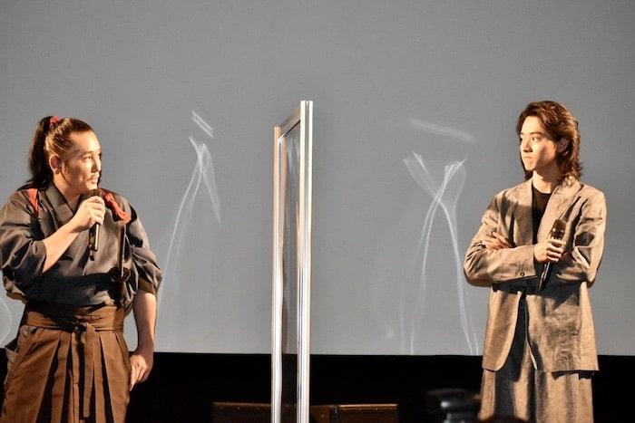 坂口拓、山﨑賢人、下村監督『狂武蔵』完成披露イベント