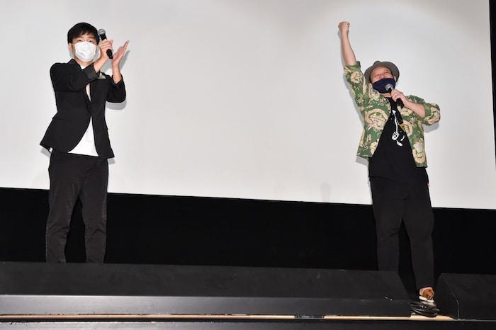 『ロックンロール・ストリップ』ジャルジャル後藤、木下監督舞台挨拶レポート