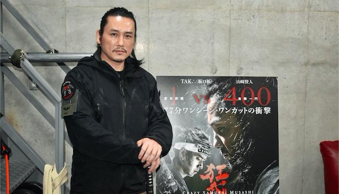 【坂口拓インタビュー】77分間ワンカットに挑んだ『狂武蔵』の撮影秘話