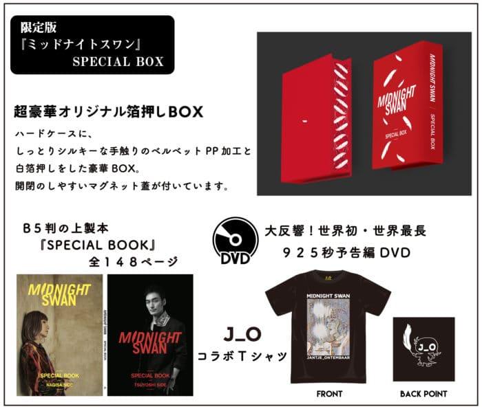 『ミッドナイトスワン』限定BOX