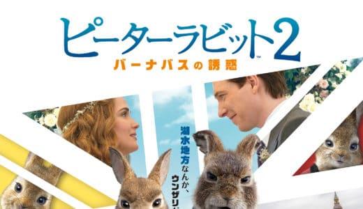 『ピーターラビット2/バーナバスの誘惑』日本公開日がついに決定!日本版ポスターもあわせて解禁!