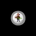 『小さなバイキング ビッケ』缶バッジ