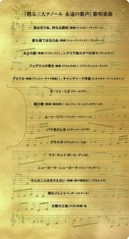 『甦る三大テノール 永遠の歌声』【本ポスタービジュアル&シーン写真解禁】