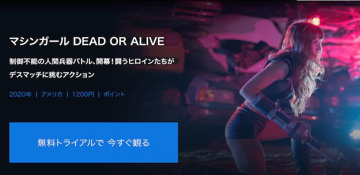 『マシンガール DEAD OR ALIVE』