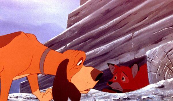 『きつねと猟犬』