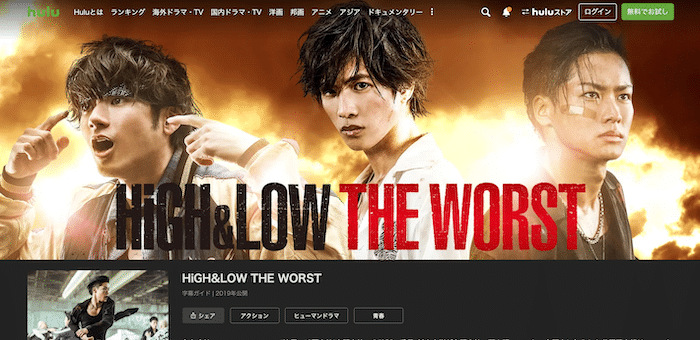 『HiGH&LOW THE WORST』