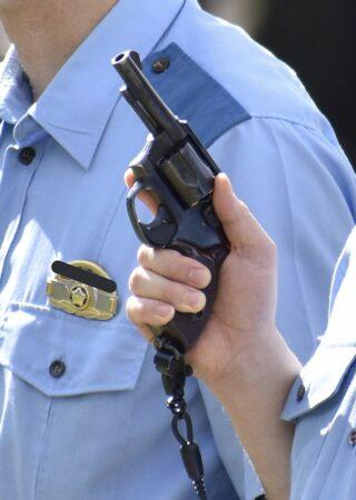 日本警察と銃