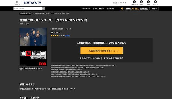 ドラマ『古畑任三郎 第2シリーズ』を見たい人におすすめの関連作品