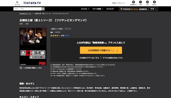 ドラマ『古畑任三郎 第3シリーズ』を見たい人におすすめの関連作品