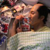 ドラマ『武士スタント 逢坂くん!』 第2話 緋村は自分が勝ったらここから出て行って欲しいと言います。果たして、2人の勝負の行方やいかに!?