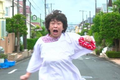 ドラマ『サムライカアサン』第1話 よい子(城島茂)は、今日も家族みんなに愛情たっぷり弁当を作る